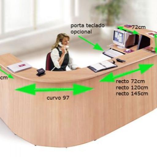 Mostrador recepcion de oficina [1]