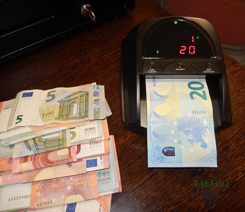 Detector de billetes falsos hm-detec