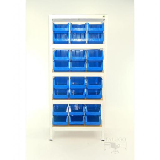 Estanteria metalica con gavetas de plastico ko-futal75-35gav54 [2]