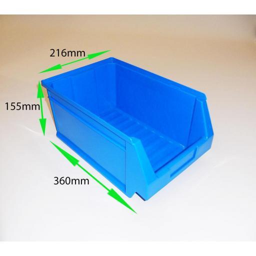 Estanteria metalica con gavetas de plastico ko-futal75-35gav54 [3]