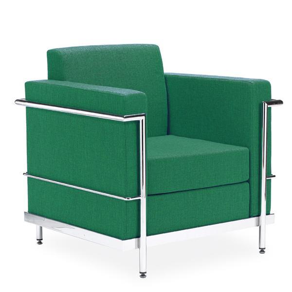 Sofa de diseño 1 plaza hg-luxorta