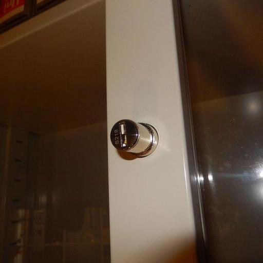 Armario metalico puertas de cristal 195x100x42 id-0210.0106 [3]