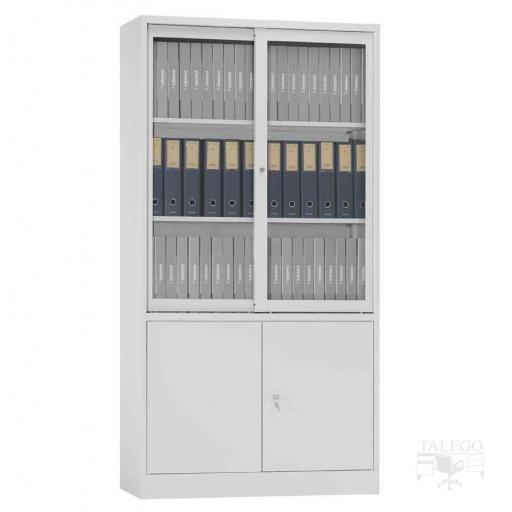 Armario metalico puertas de cristal y metal 195x100x42 id-0212.0106 [1]