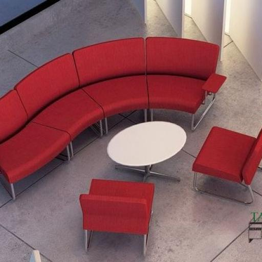Mesa de sala de espera con moderna [3]