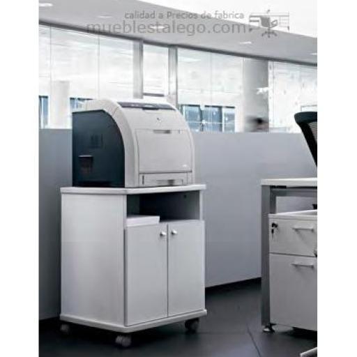 Mesa fotocopiadora con ruedas ber-copian40