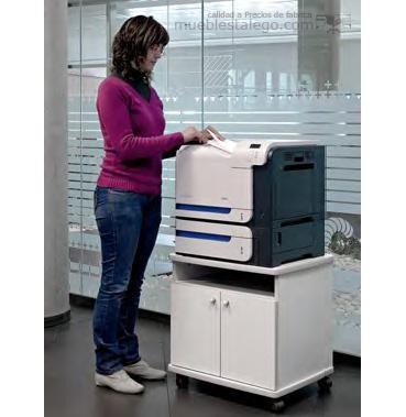 Mesa fotocopiadora con ruedas ber-copian50