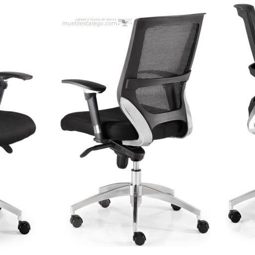 Sillón de oficina con diseño EUR-Maltata [3]