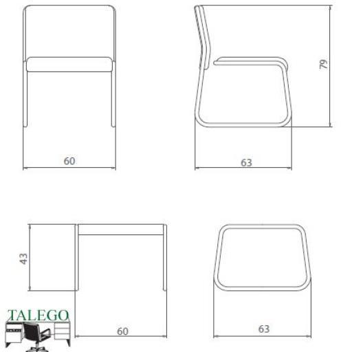 Conjunto de sillones y mesas de sala de espera [2]