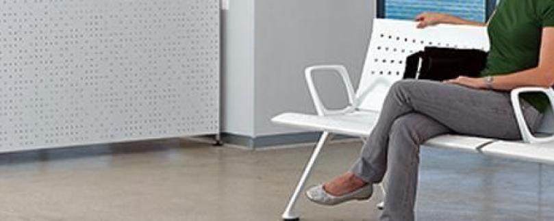Sillones de sala de espera