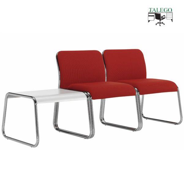 Conjunto de sillones y mesas de sala de espera